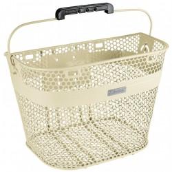 Electra Linear QR Basket, creme