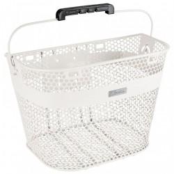 Electra Linear QR Basket, white