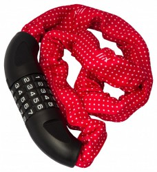Liix Big Lock 85 cm Polka Dots red