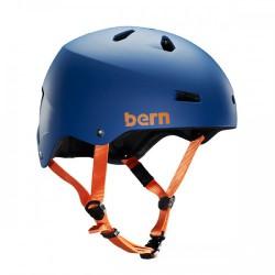 Bern Macon matte blue