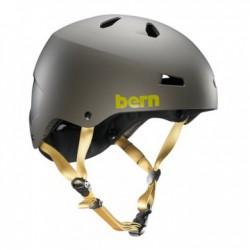 Bern Macon matte grey/yellow