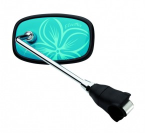 Handlebar Mirror Hawaii blue