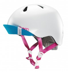 Bern Helm Nina satin white
