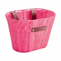 Electra Korb Plastic Basket woven, small pink