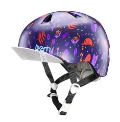 Bern Helm Nina satin purple Jungle