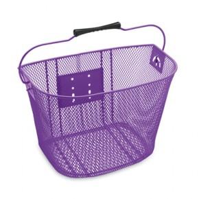 Electra Fahrradfrontkorb Quick Release, purple