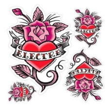 Stickerset Rosehearts