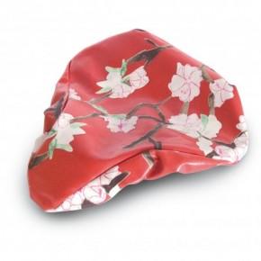 Sattelbezug Blossom Twig Farm red
