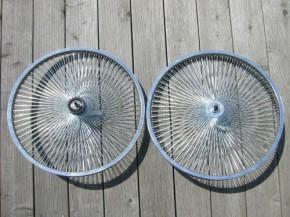 24´-Laufrad mit 140 Speichen