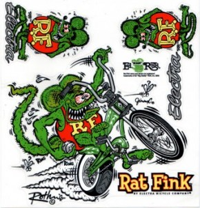 Stickerset Rat Fink
