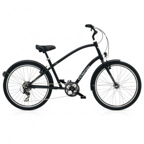 Electra Townie Original 21D EQ black satin men's