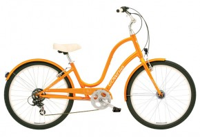 Electra Townie Original 7D EQ orange pearl ladies'
