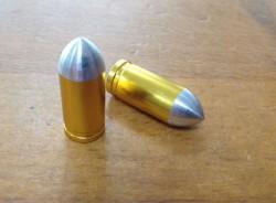 Valve Caps Bullet, gold