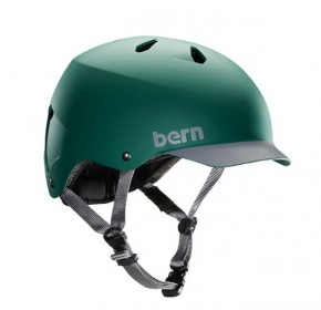 Bern Watts pine green mit grauem Visor