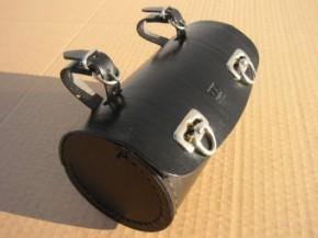 Werkzeugsatteltasche Zylinder, schwarz