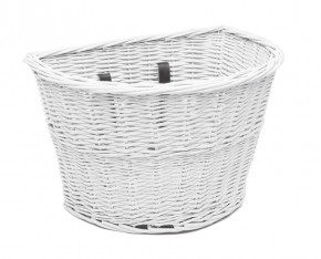 Electra Korb Wicker Basket white